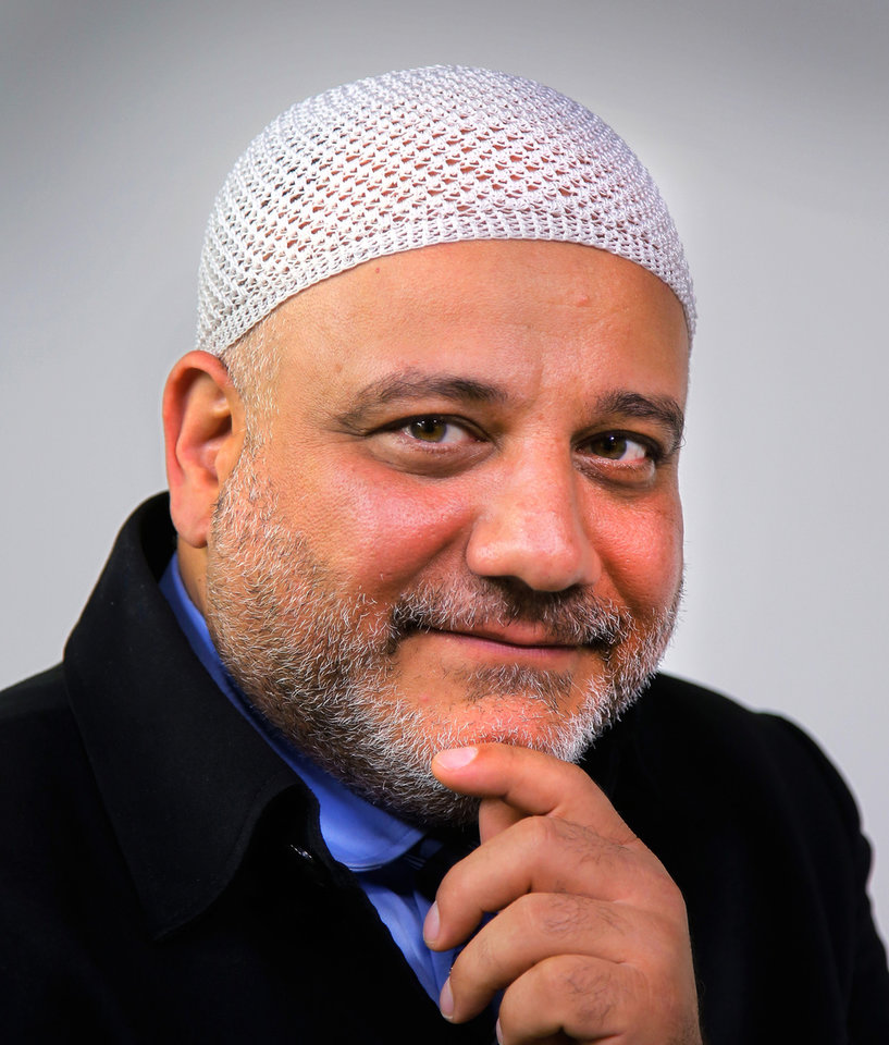 Photo -   Imad Enchassi  is senior imam of the Islamic Society of Greater Oklahoma City. [Photo by Jim Beckel, The Oklahoman Archives]
