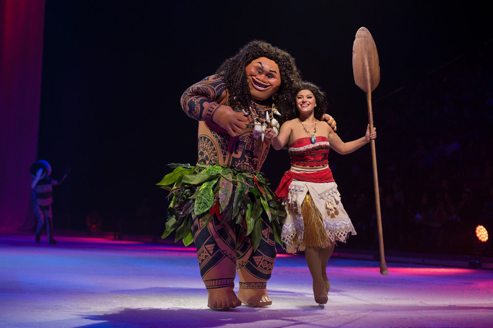 Photo -  Moana and Maui from the 2016 animated movie