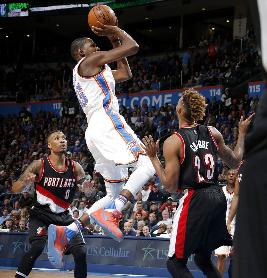 Thunder: Previewing OKC's Game Monday Against The Portland