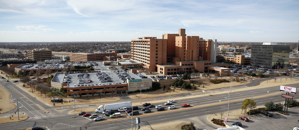 Photo -  Integris Baptist Medical Center, 3300 NW Expressway, in Oklahoma City, Wednesday, Jan. 8, 2020. [Nate Billings/The Oklahoman]