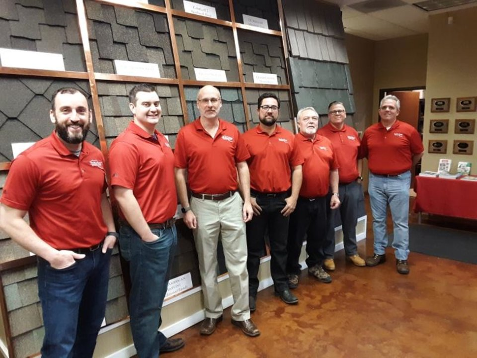 Photo - Red River Roofing - Hail Storm Heroes!
