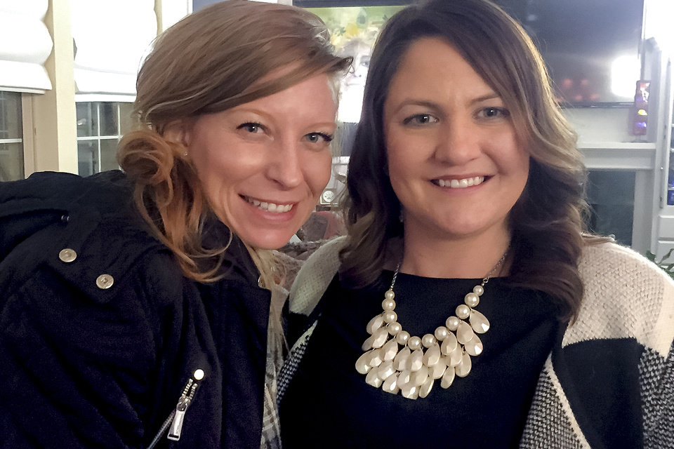 Photo - Heather Popowsky and Rebecca King. PHOTO PROVIDED