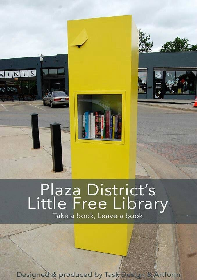 Photo - Architect Kenneth Fitzsimmons of Task Design Inc. designed the mobile Little Free Library for the Plaza District.   - PROVIDED BY AIA CENTRAL OKLAHOMA