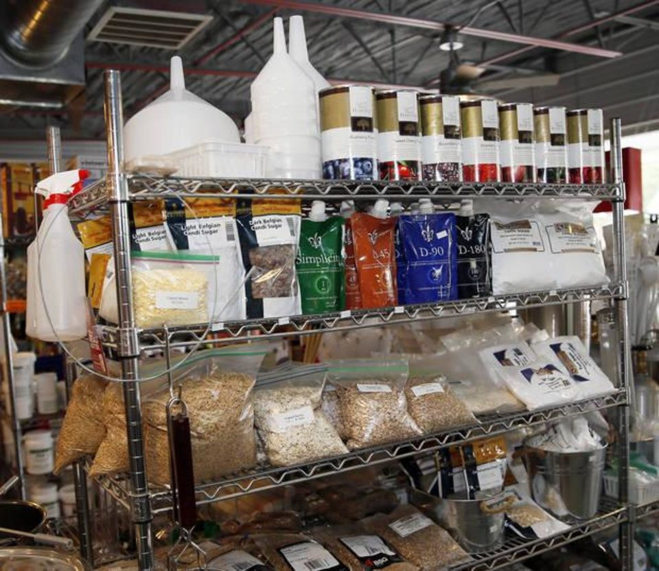 Photo   Brewing Supplies At The Brew Shop, 2916 Pennsylvania Ave., In  Oklahoma
