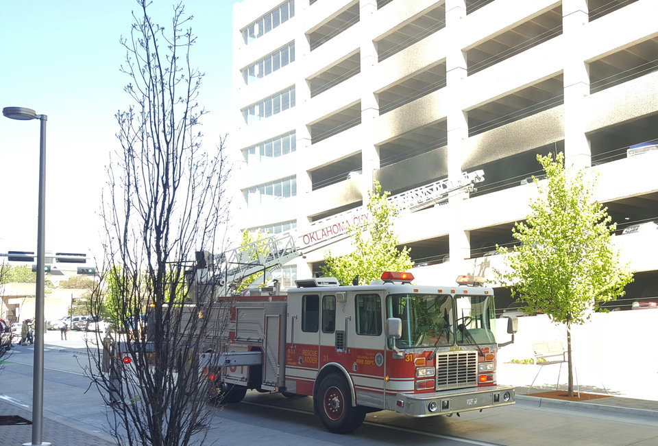 Car Catches Garage On Fire In Rochester: Three Cars Caught Fire Monday In An OKC Parking Garage
