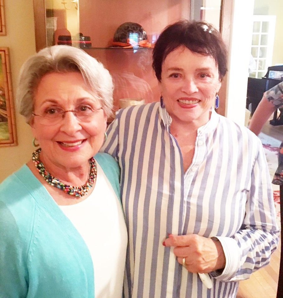 Photo - Betty Ashford and Kitty Champlin. PHOTO PROVIDED