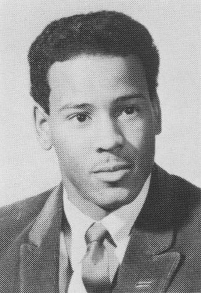 Photo -  Michael Baldwin is shown in his Oklahoma Christian College yearbook photo. [Photo provided]