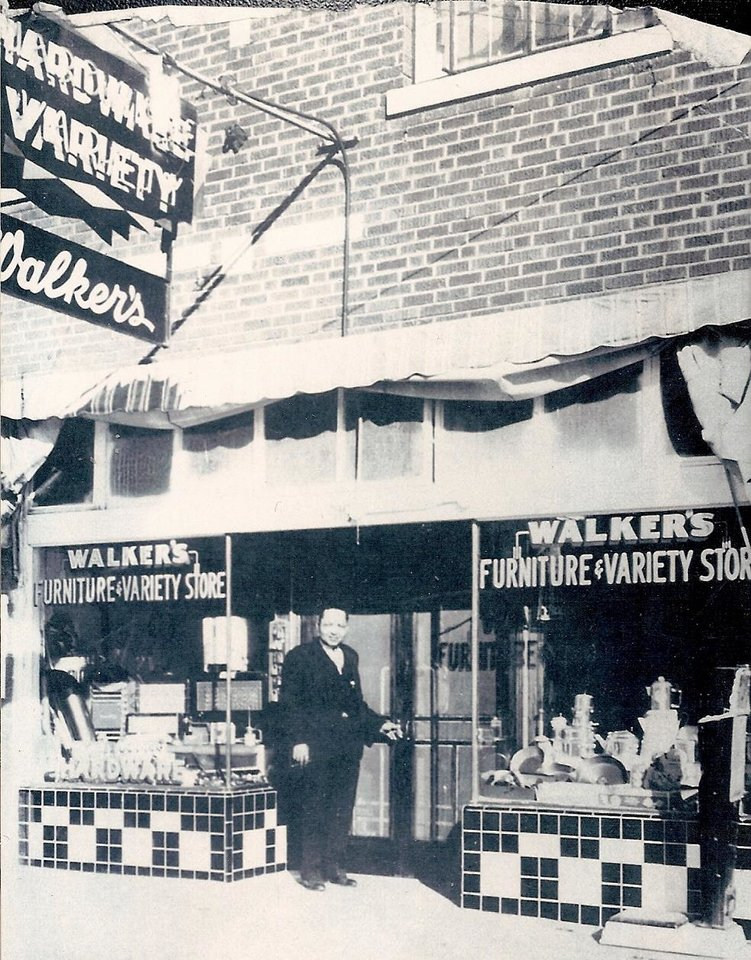 "Photo -  Walker Variety was the ""Walmart"" of Deep Deuce during the neighborhood's heyday. Oklahoman Archives Photo"
