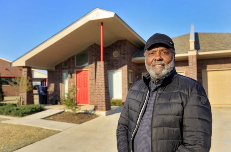 Photo -  Developer James M. Williams is shown at Forest Village Estates, senior housing, on the west side of Bryant Avenue, north of NE 30. [CHRIS LANDSBERGER/THE OKLAHOMAN]