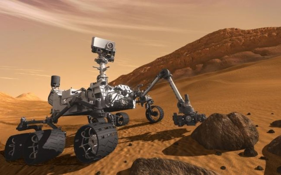 Photo -  Mars Curiosity Rover [NASA]