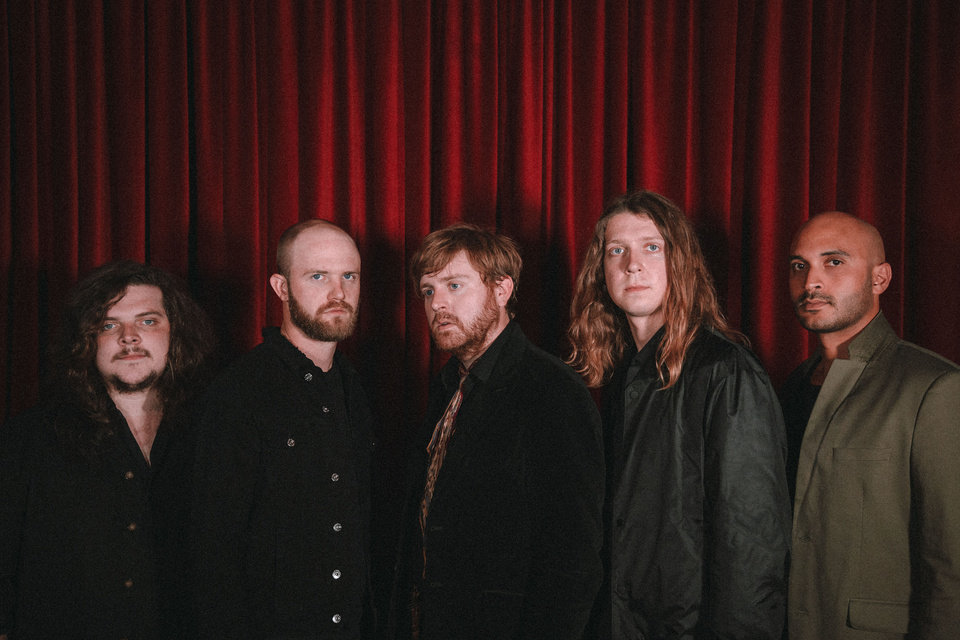 Photo -  From left, Horse Thief is Cody Fowler, Alex Coleman, Cameron Neal, Zach Zeller and Alberto Roubert. [Photo provided]