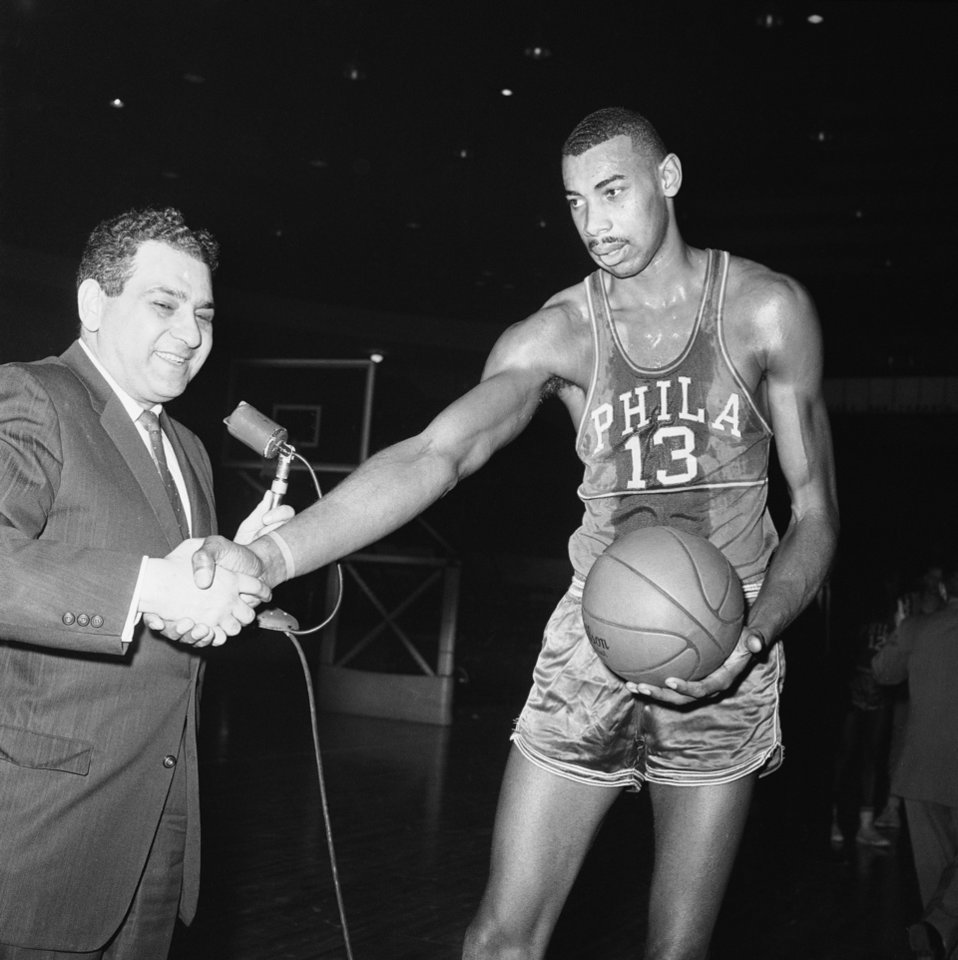 Wilt Chamberlain Recalling the days Wilt came to Oklahoma