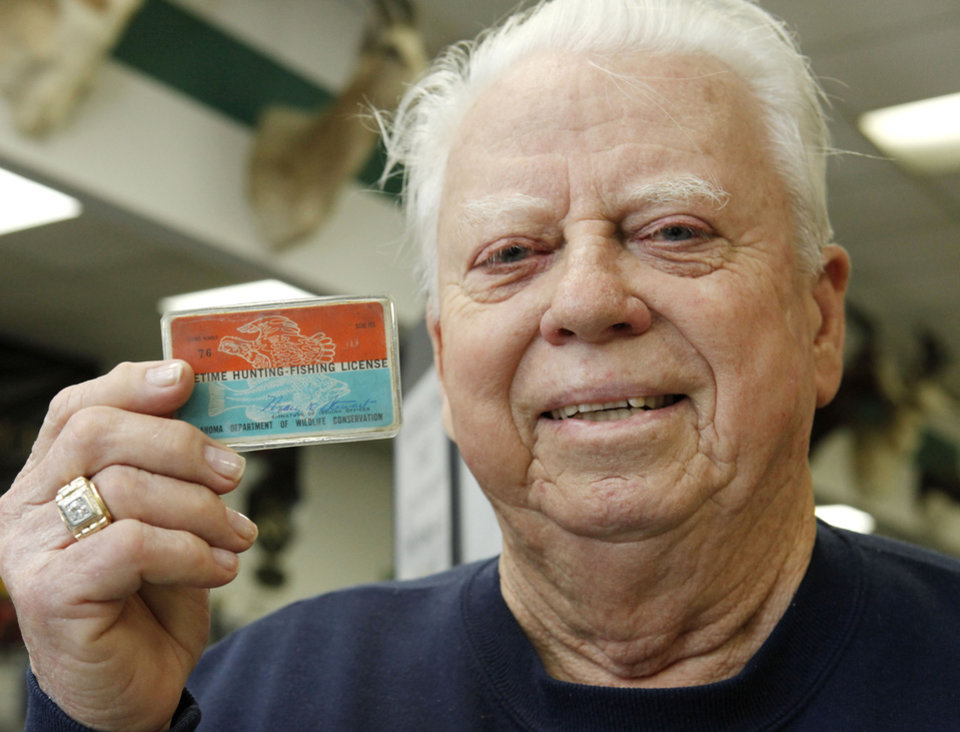Clayton barnwell has gotten a life full of memories from for Oklahoma fishing license cost