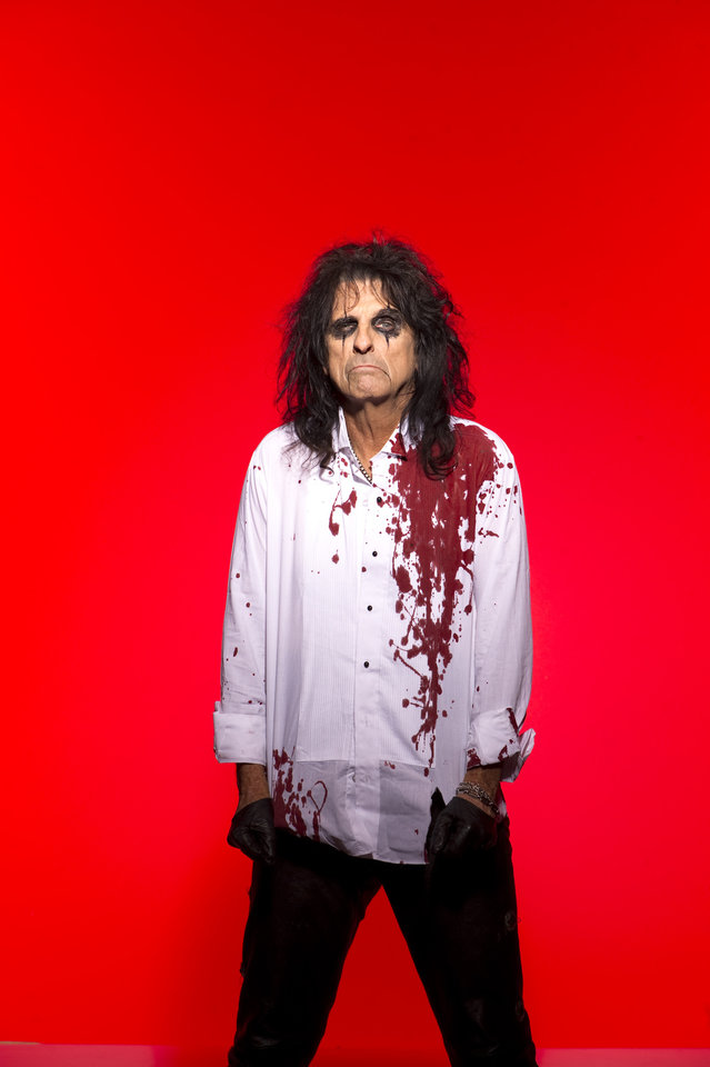 Photo -  Alice Cooper was inducted into the Rock and Roll Hall of Fame in 2011. [Photo provided]