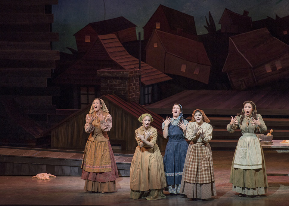 Photo - Last year, Lyric's 'Fiddler on the Roof,' with the help of Allied Arts and the National Endowment for the Arts, included deaf cast members and American Sign Language. Photo provided.