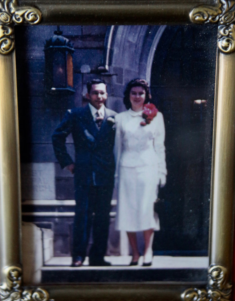 Photo - The Kietzman's at their wedding day in 1951. Photo provided.
