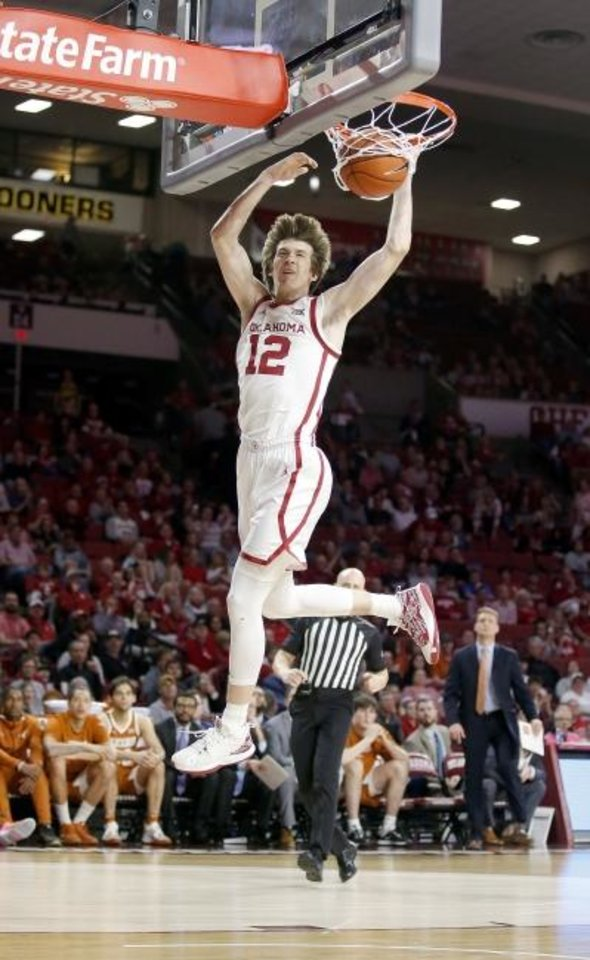 Photo -  Oklahoma's Austin Reaves was named to the All-Big 12 Preseason first team on Wednesday in a vote by the league's basketball coaches. [[Sarah Phipps/The Oklahoman]