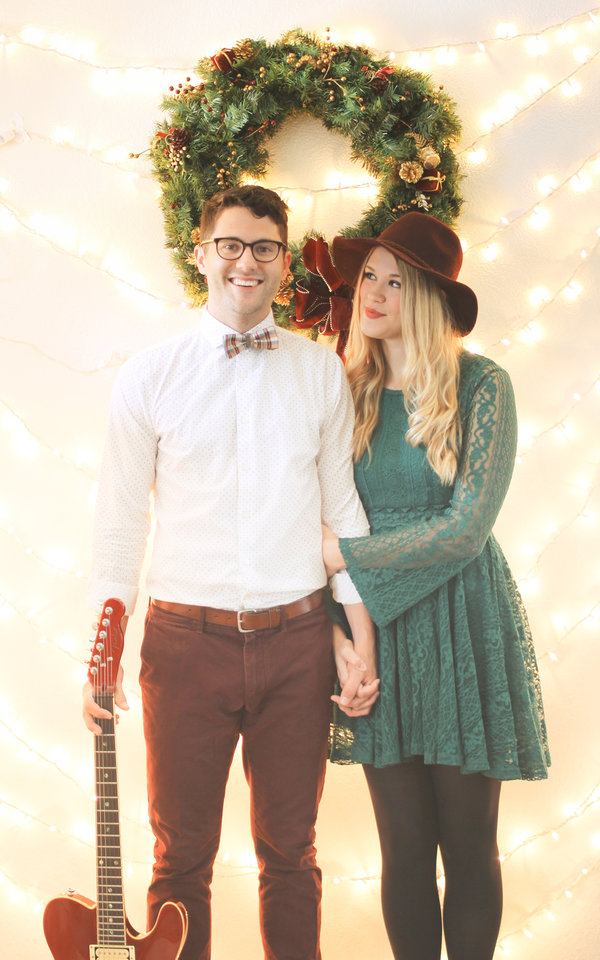 Photo -  Bryce and Bethany Merritt will perform original and holiday classics during their