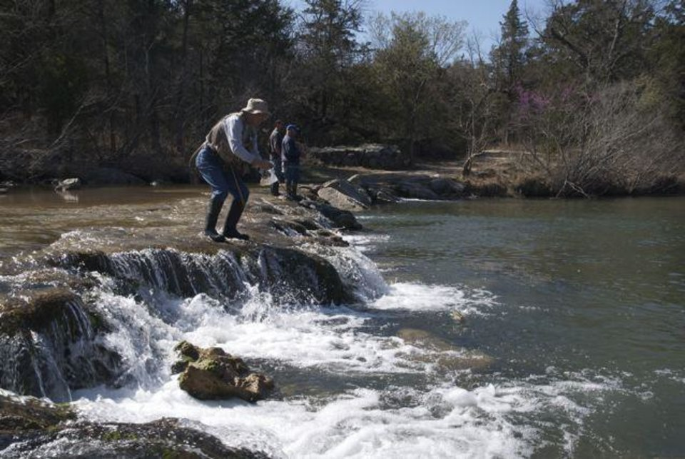 About the blue river news ok for Oklahoma fishing license cost