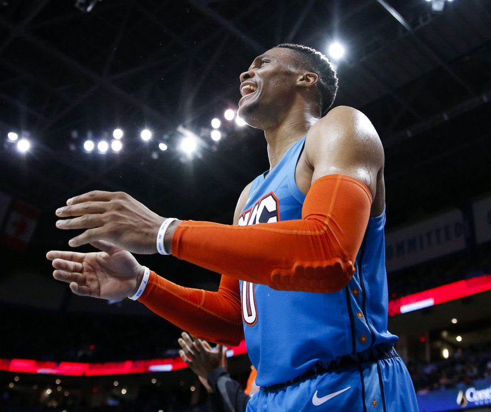 Thunder journal: Westbrook 'still getting his legs under him