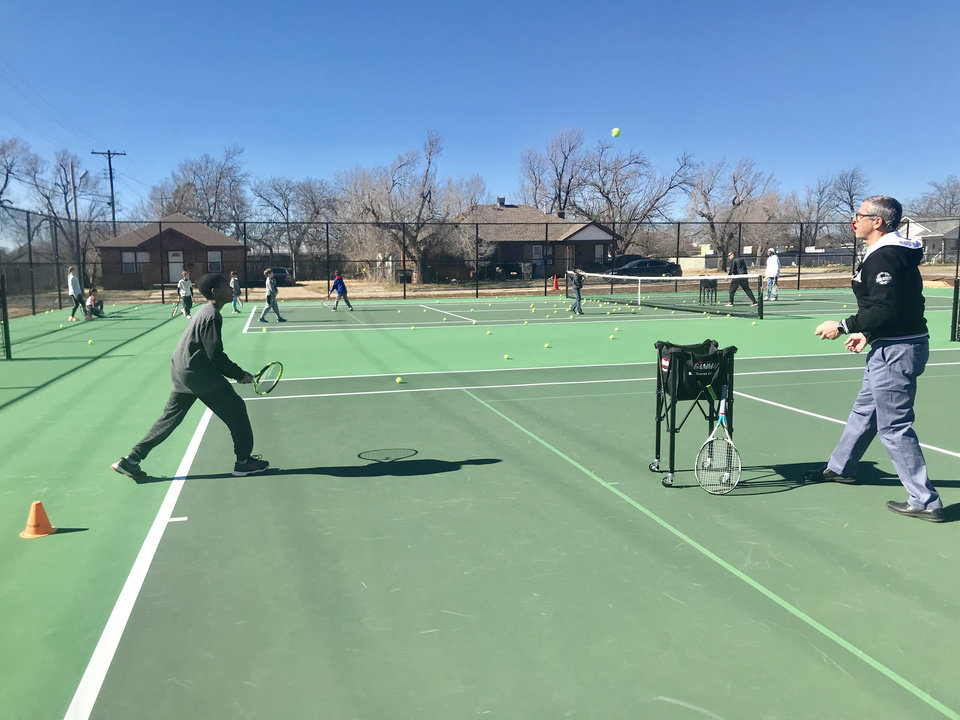 ee3c386964fb OKC church s tennis academy outreach adds three new courts