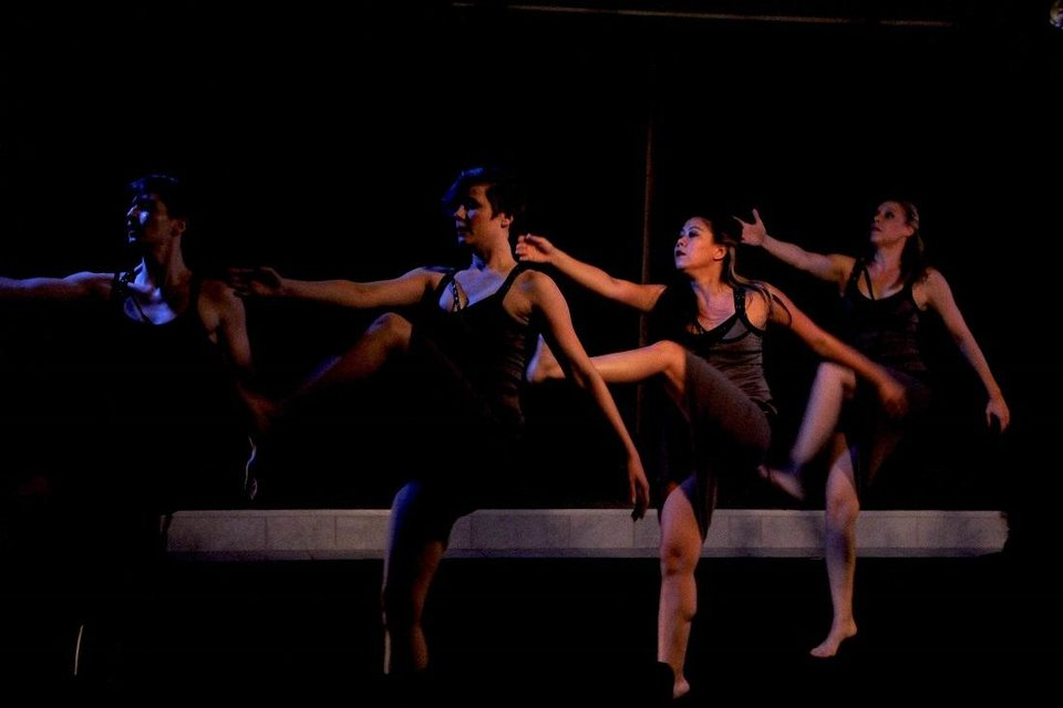 Photo - At the 2019 Theatre Crude Fringe Festival, Perpetual Motion Dance performs