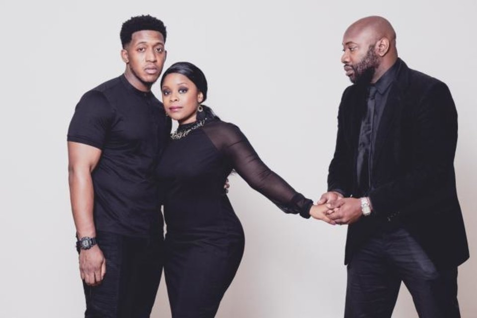 Photo -  From left, Kamron McClure, Regina Banks and Rod Porter star in
