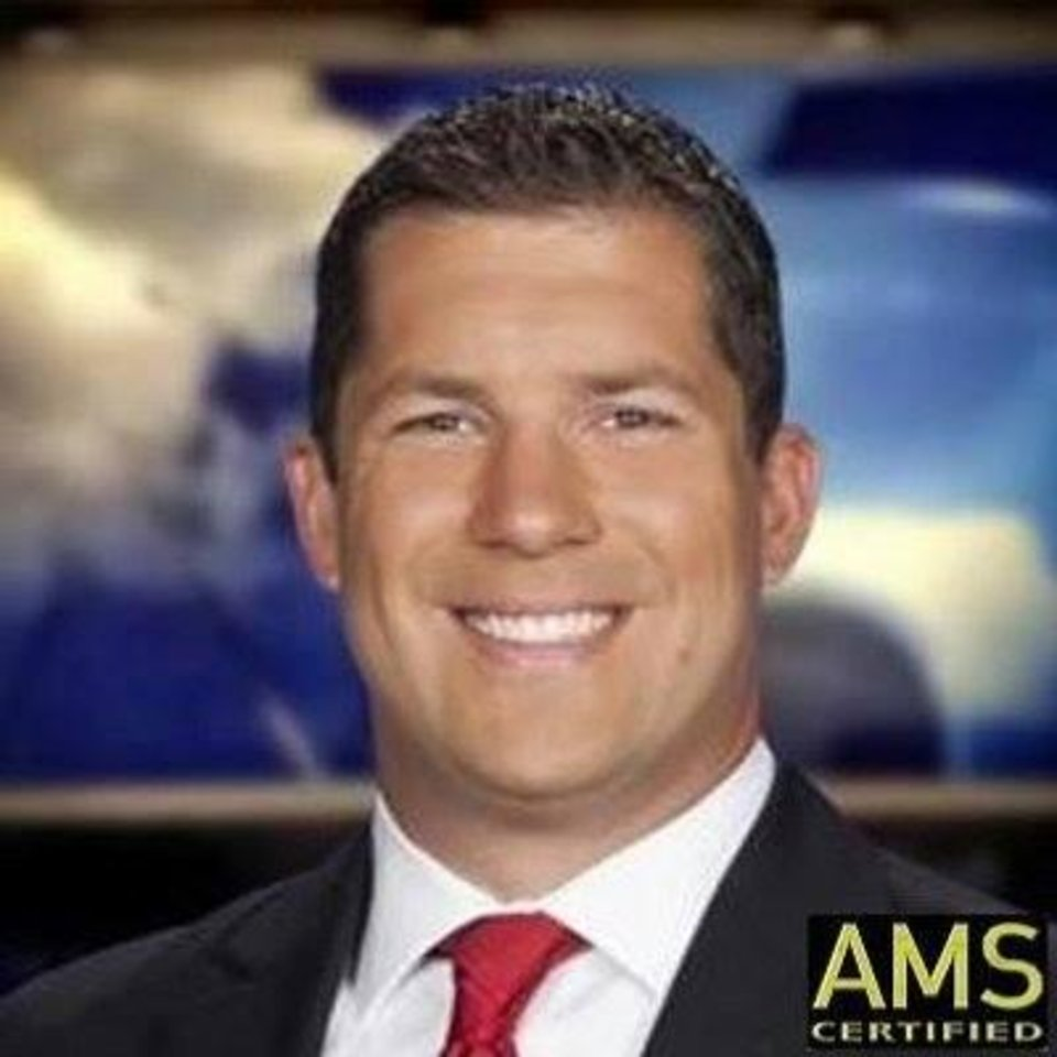 Photo -  KOCO-5 Chief Meterologist Damon Lane. [KOCO-5 photo]