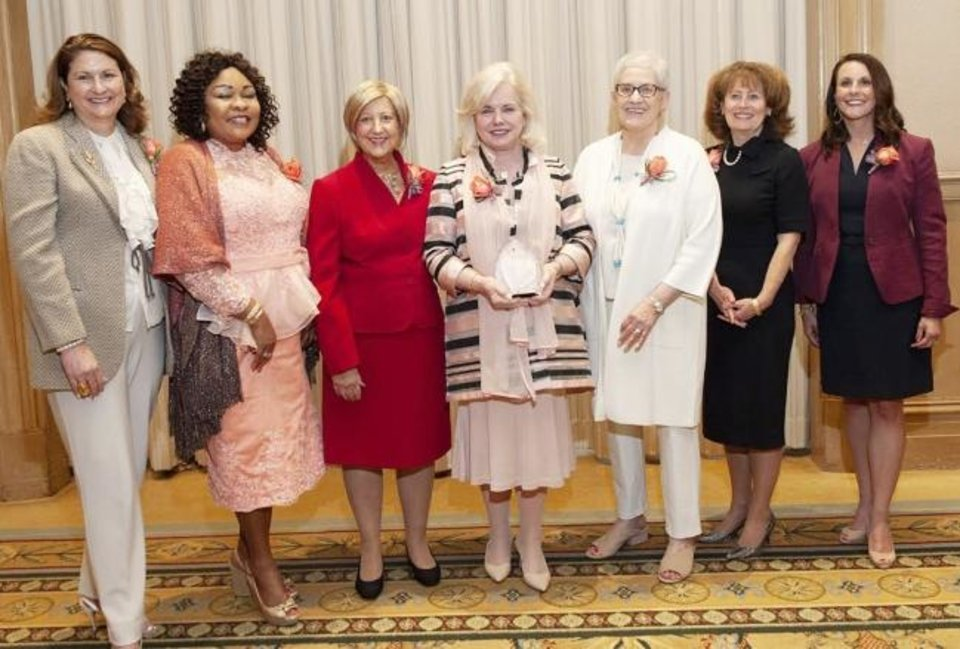 Photo -  Jonna Kirschner, Rosaline Nsikak, Susan Harkness, Linda Haneborg, Molly Wehrenberg, Natalie Shirley and Christina Rehkop. [PHOTO PROVIDED]