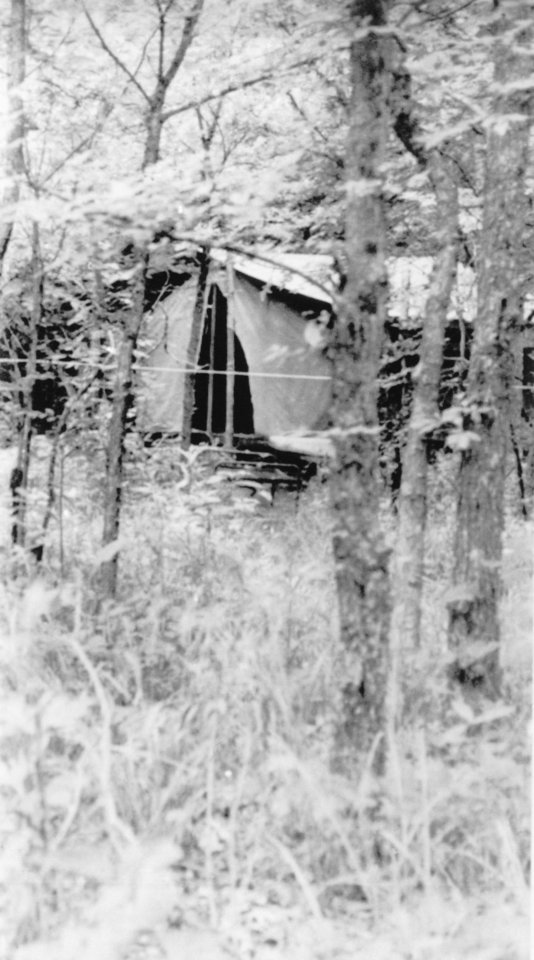 Photo -  Girl Scouts from the Tulsa area who shared this tent were sexually assaulted and slain. A counselor found the victims on June 13, 1977, at Camp Scott in Locust Grove, Oklahoma. Authorities allowed photographers to take photos on July 16, 1977. [AP File Photo]