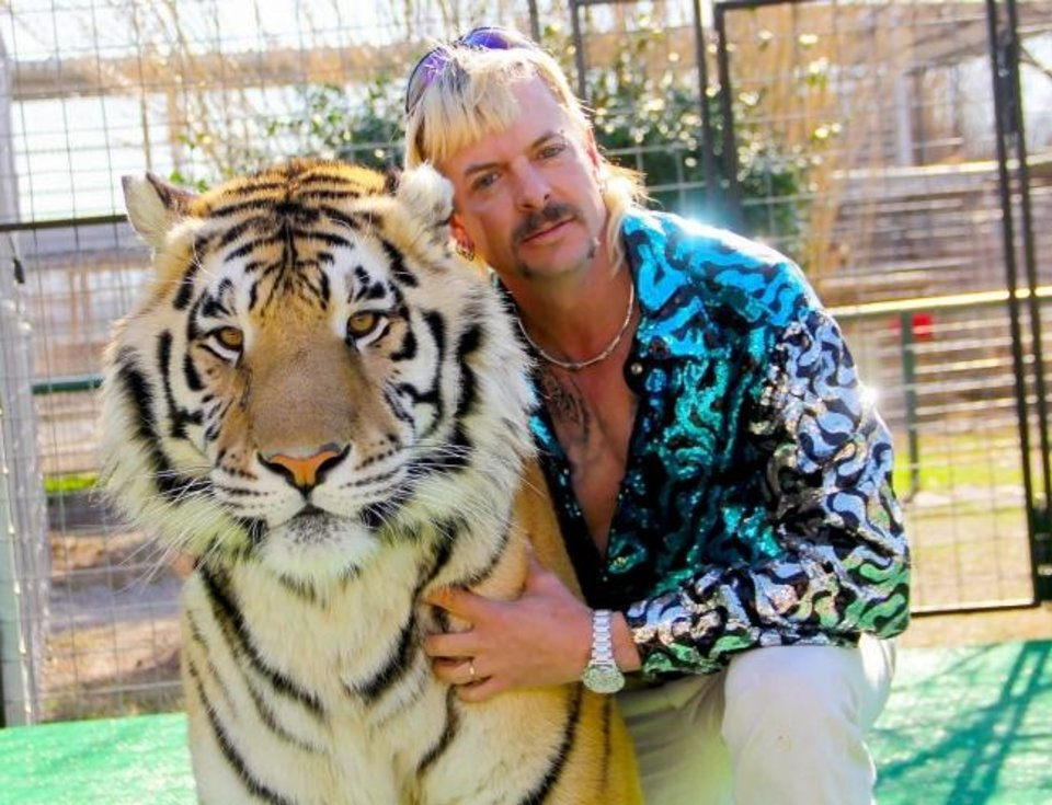 Photo -  Joe Exotic appears in a still from the docuseries