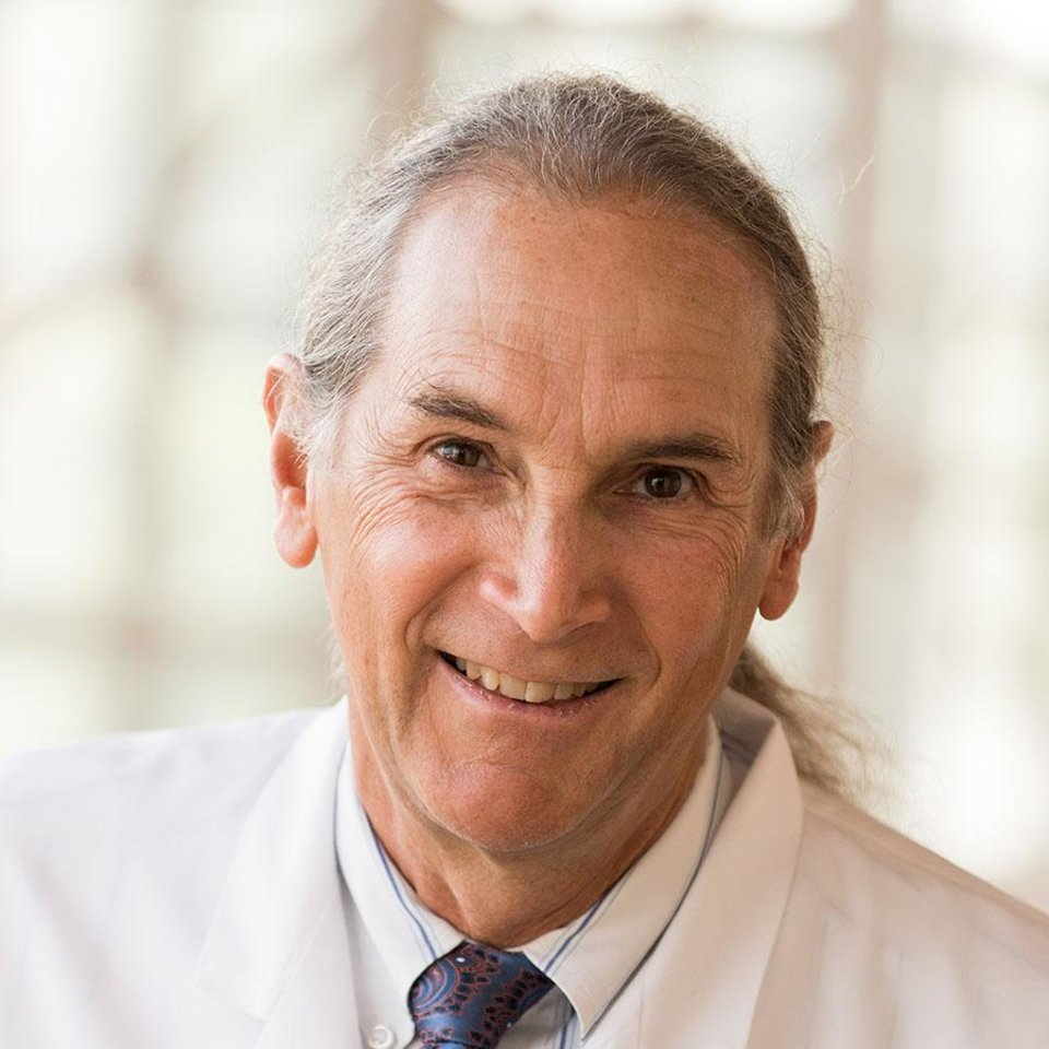 Photo -  OU Medicine hematologist George Selby. [Photo provided]