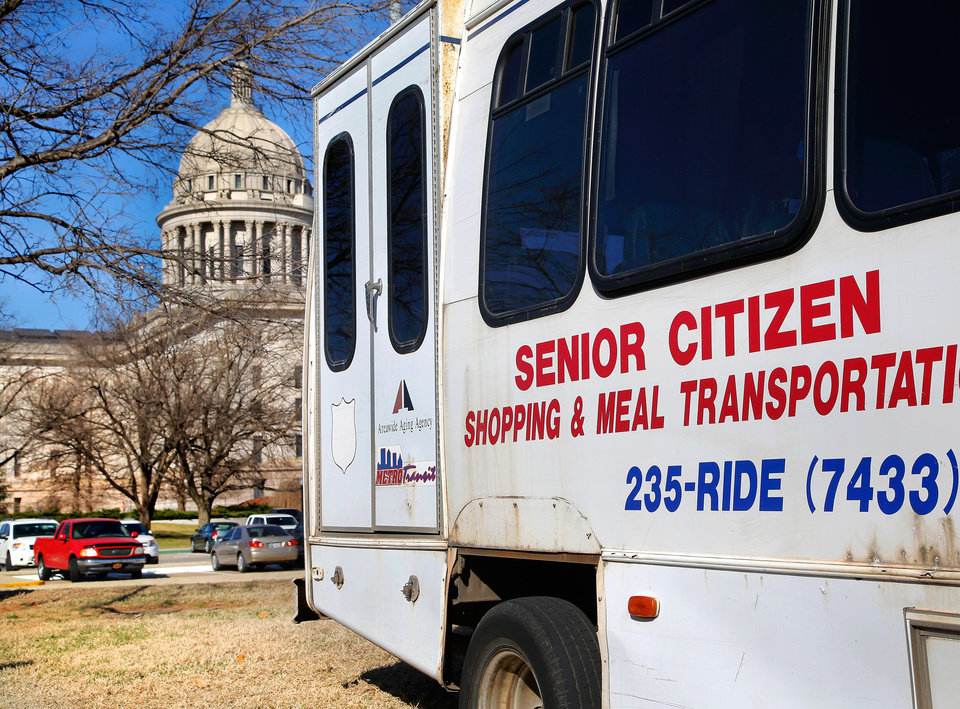 Senior day at oklahoma capitol draws concerns of hunger for Build on your lot oklahoma