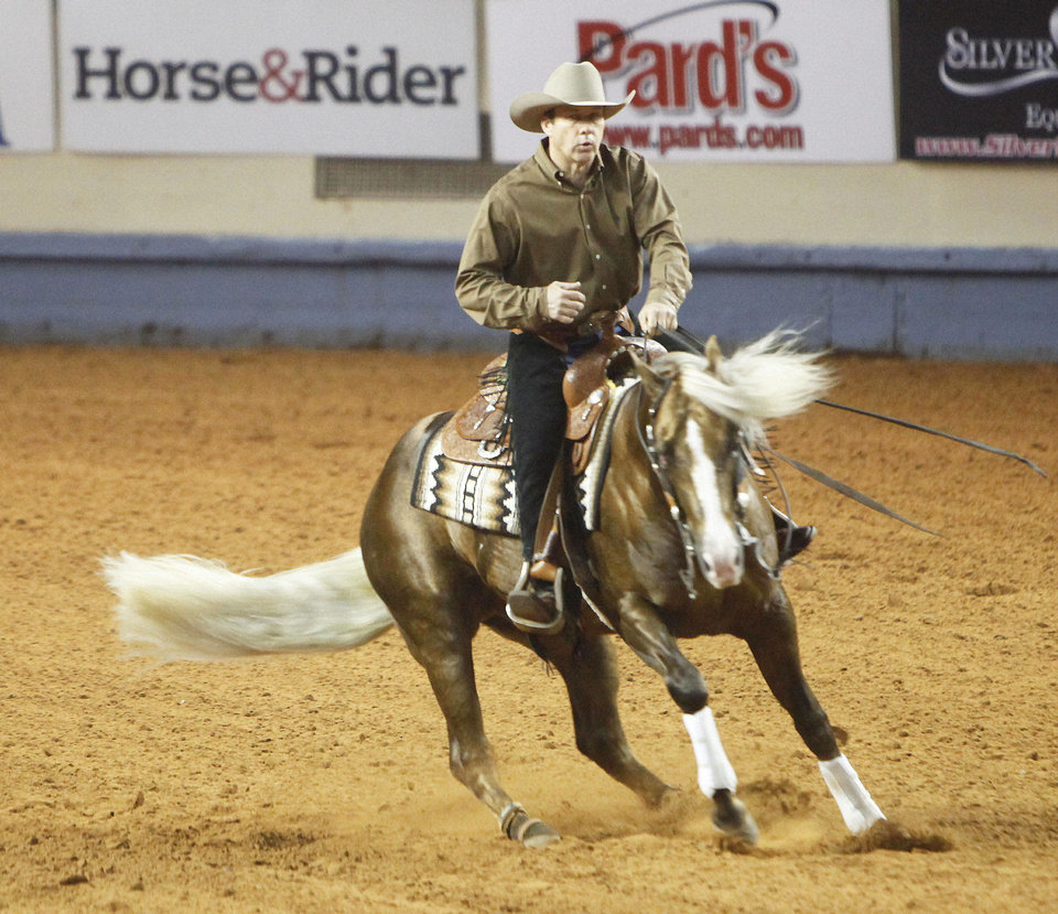 The National Reining Horse Association's 2012 Futurity event