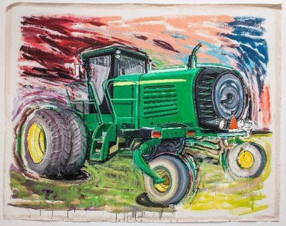 OSU exhibit conjures question: 'Are these tractors sexy ...