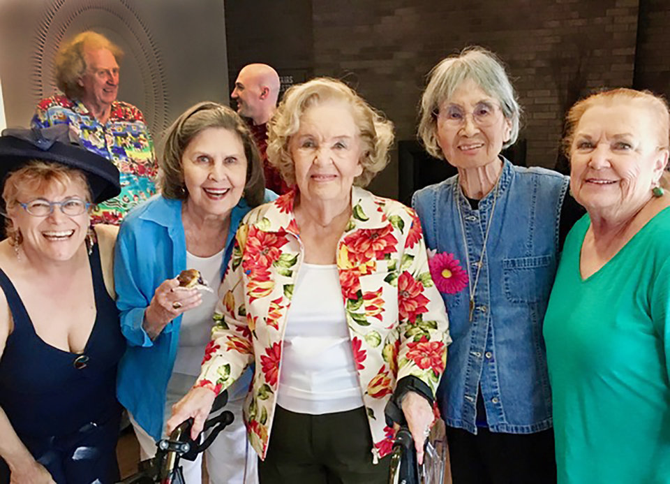 Photo - Dr. Germaine Odenheimer, Suzanne Randall, Regina Murphy, Michi Susan, Michelle Metcalfe. PHOTO PROVIDED