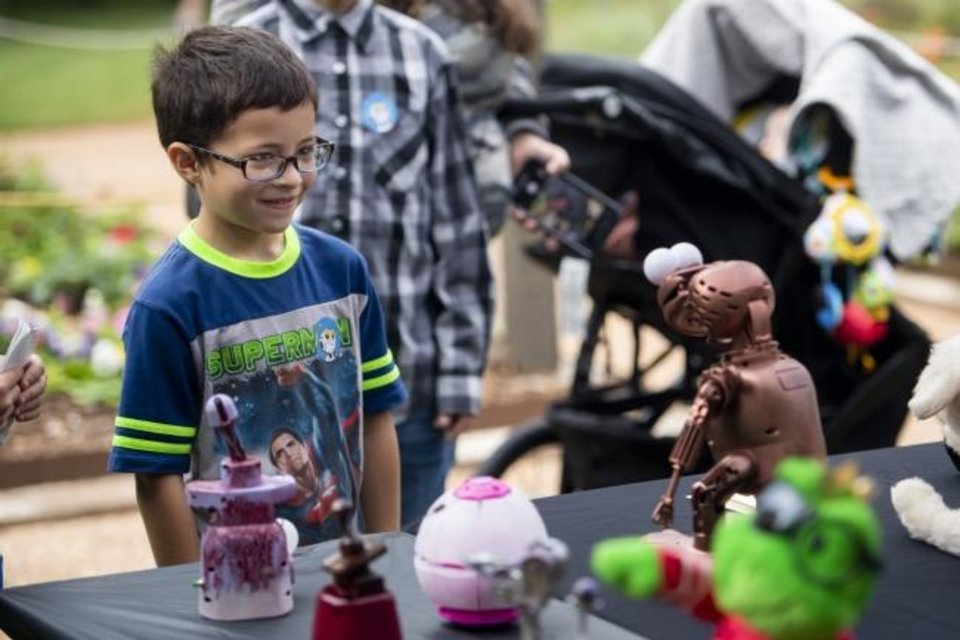 Photo -  Children will make discoveries as they use their creativity during Tinker in the Parks activities on Saturday. [PHOTO PROVIDED]