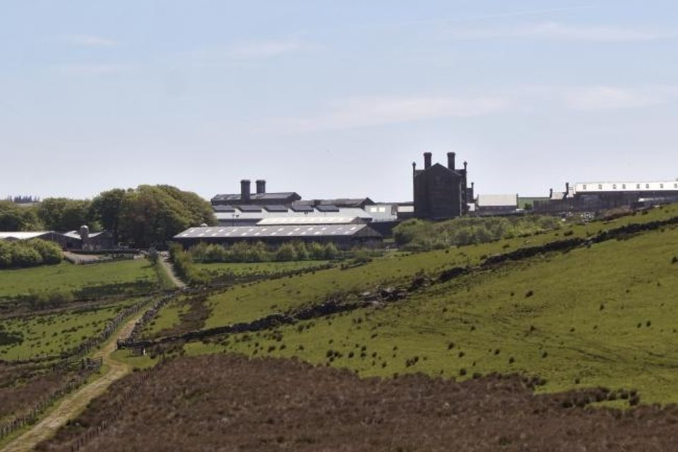 Photo -  Dartmoor Prison in the English county of Devon. [Ben Felder/The Oklahoman]