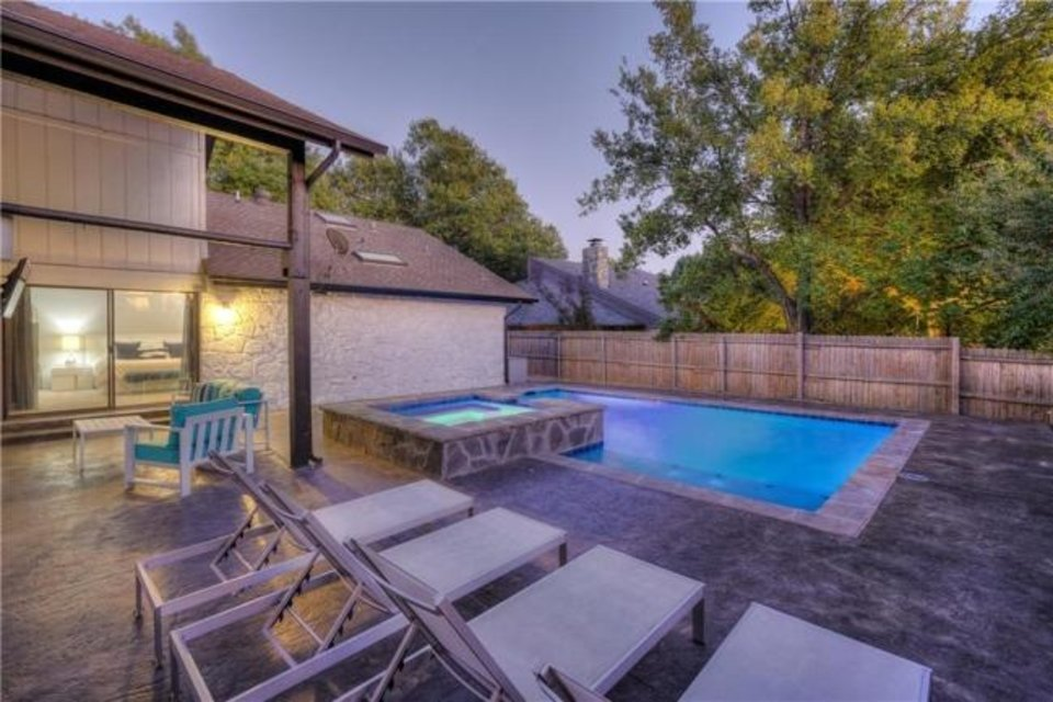 Photo -  New pool area at 11415 Red Rock Road, the Listing of the Week. [PHOTO PROVIDED]