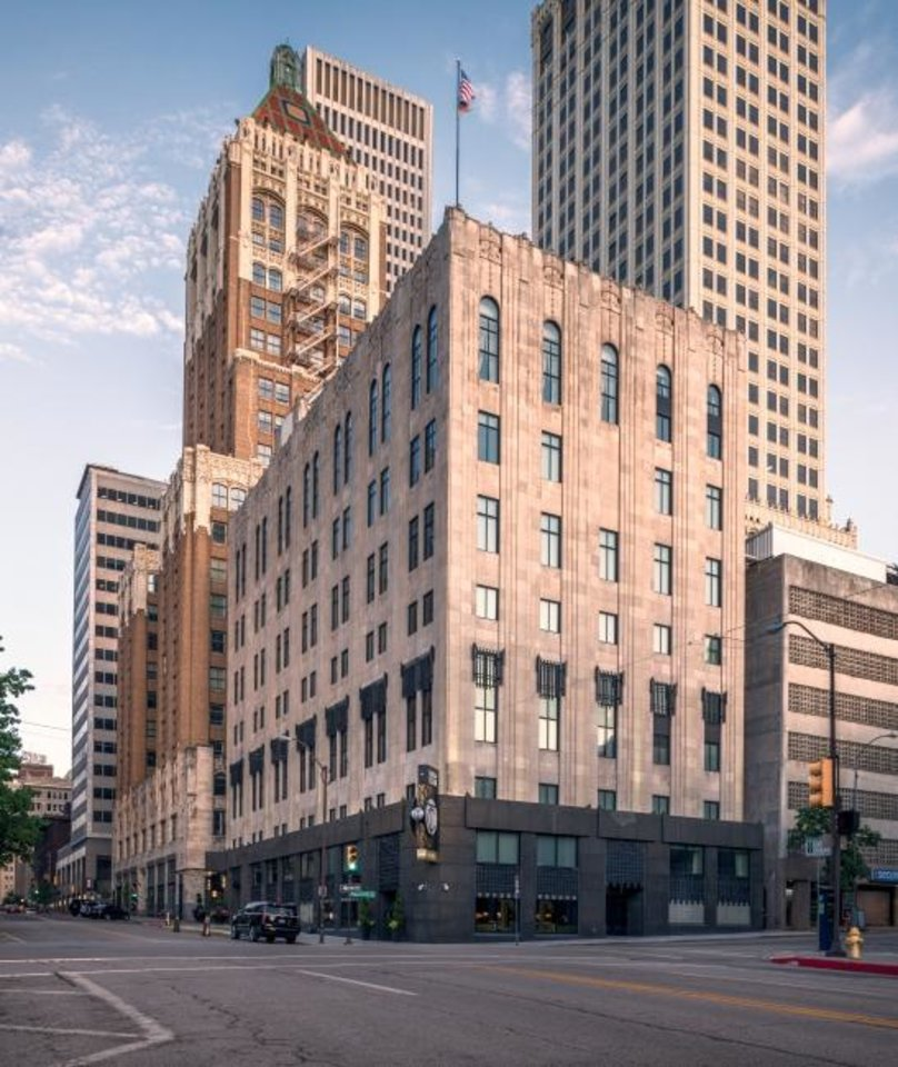 Photo -  The Ross Group used $3.7 million in C-PACE funding to help pay for its $36 million renovation of the Tulsa Club into a 90-room Hilton Curio Hotel. [PROVIDED BY THE ROSS GROUP]