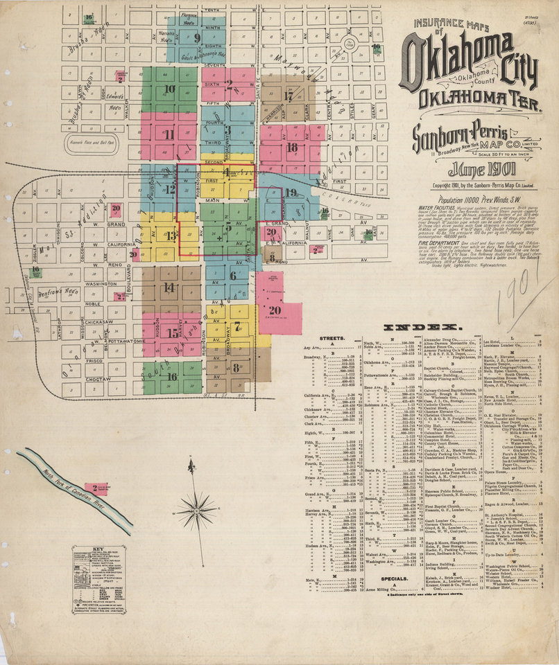 Historic Maps Of Oklahoma Go Online For Public Viewing News OK - Okla map
