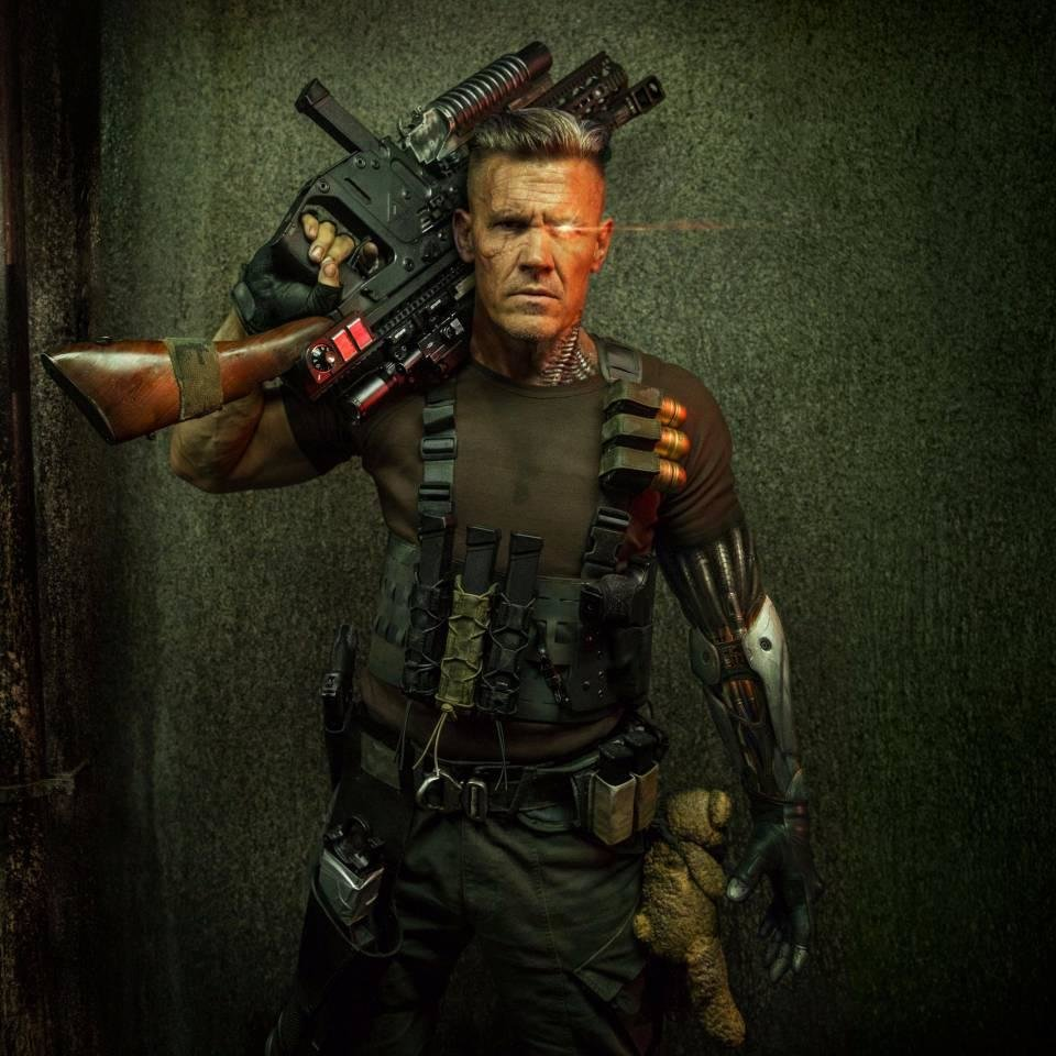 Photo -  Josh Brolin stars as Cable in
