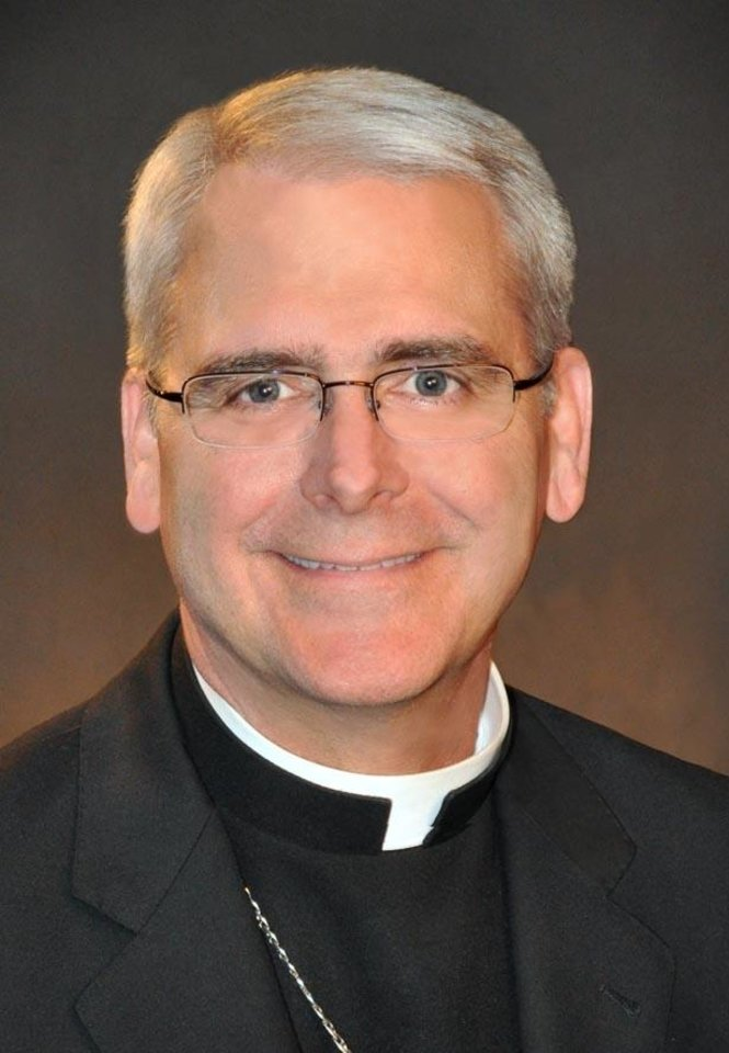 Photo -  The Rev. Paul S. Coakley, archbishop of the Roman Catholic Archdiocese of Oklahoma City [Photo provided]