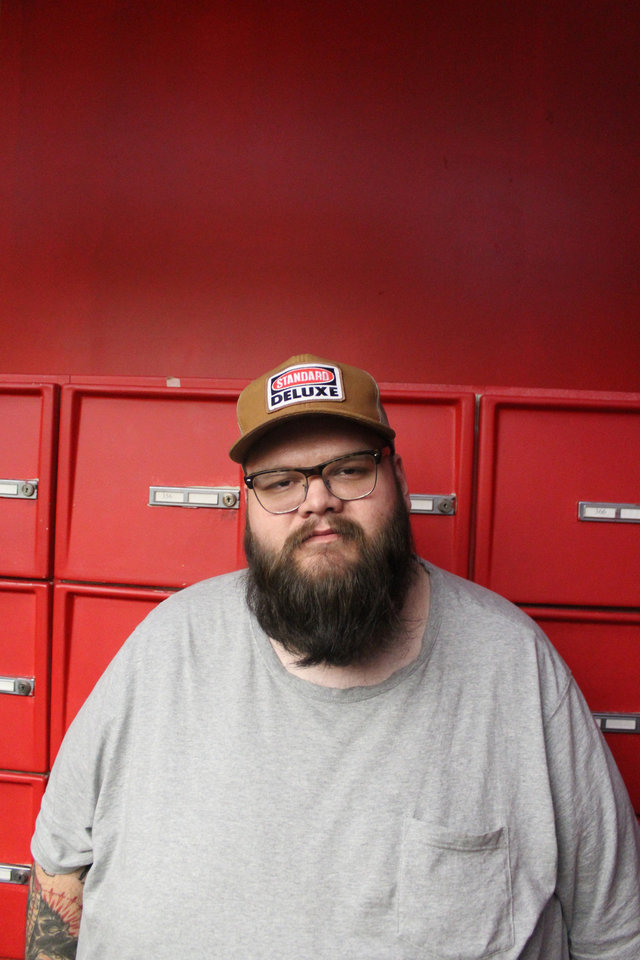 Photo -  John Moreland relocated from Kentucky to Tulsa when he was 10. He fronted hard-core and punk bands throughout high school years before switching gears toward folk and country music. [Photo provided]
