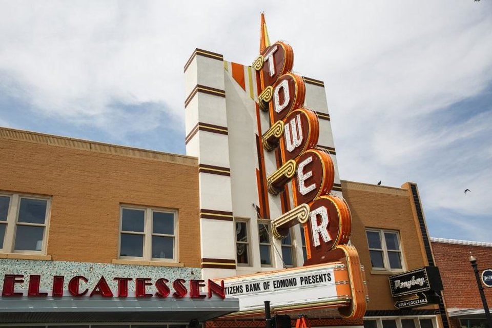 Photo - Tower Theatre in Oklahoma City is seen Wednesday, June 14, 2018. [The Oklahoman Archives]