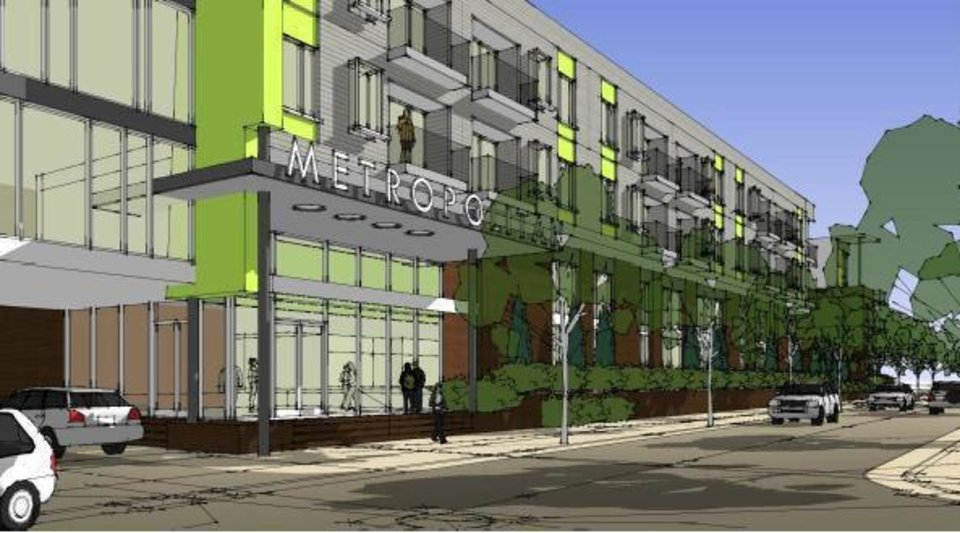 The Metropolitan Will Be Largest Single Housing Project In Downtown OKC New