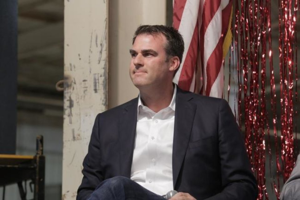 Photo -  Gov. Kevin Stitt