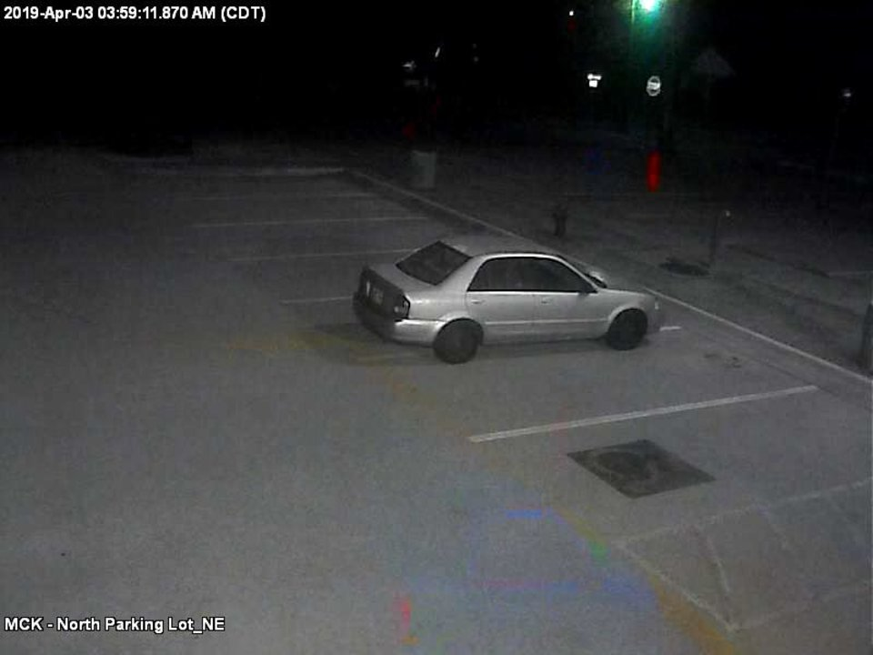 Photo - Norman police on Wednesday released images of a car thought to belong to a woman wanted for questioning after racist graffiti was found at three businesses Wednesday.