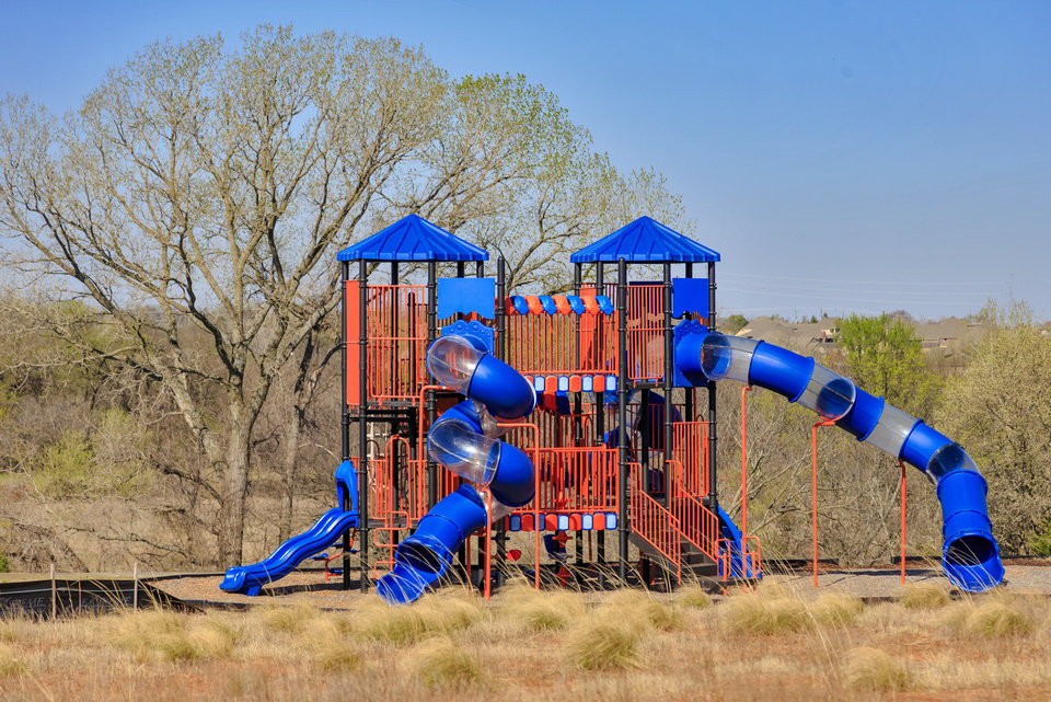 Photo -  This is a playground in the Timber Crest addition. [PHOTO BY CHRIS LANDSBERGER, THE OKLAHOMAN]