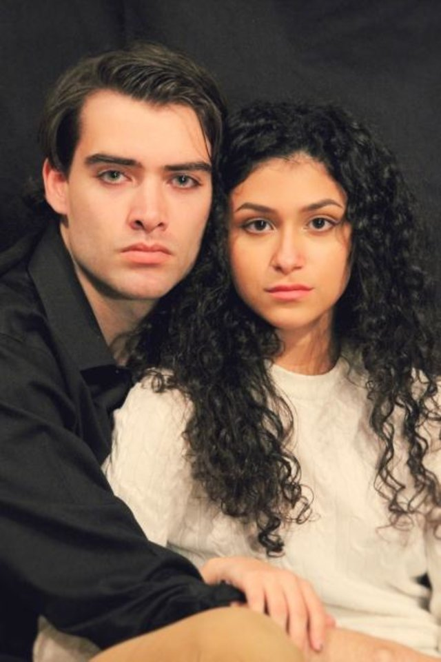 Photo -  Bryan Lewis and Nikki Mar star in Oklahoma Shakespeare's new production of